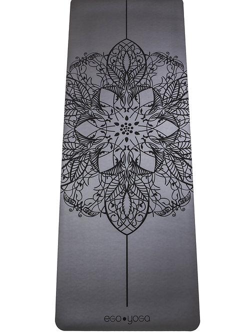 Коврик для йоги Mandala Grey