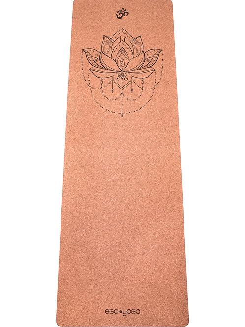 Коврик для йоги пробковый «Lotus Corck»