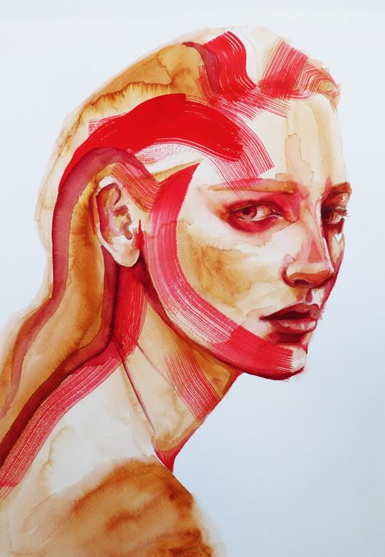 Feel red