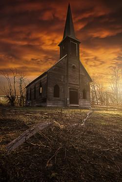 Locust Grove Church, Oregon