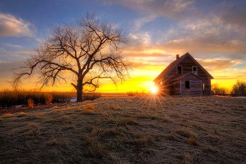 Farmstead, North Dakota