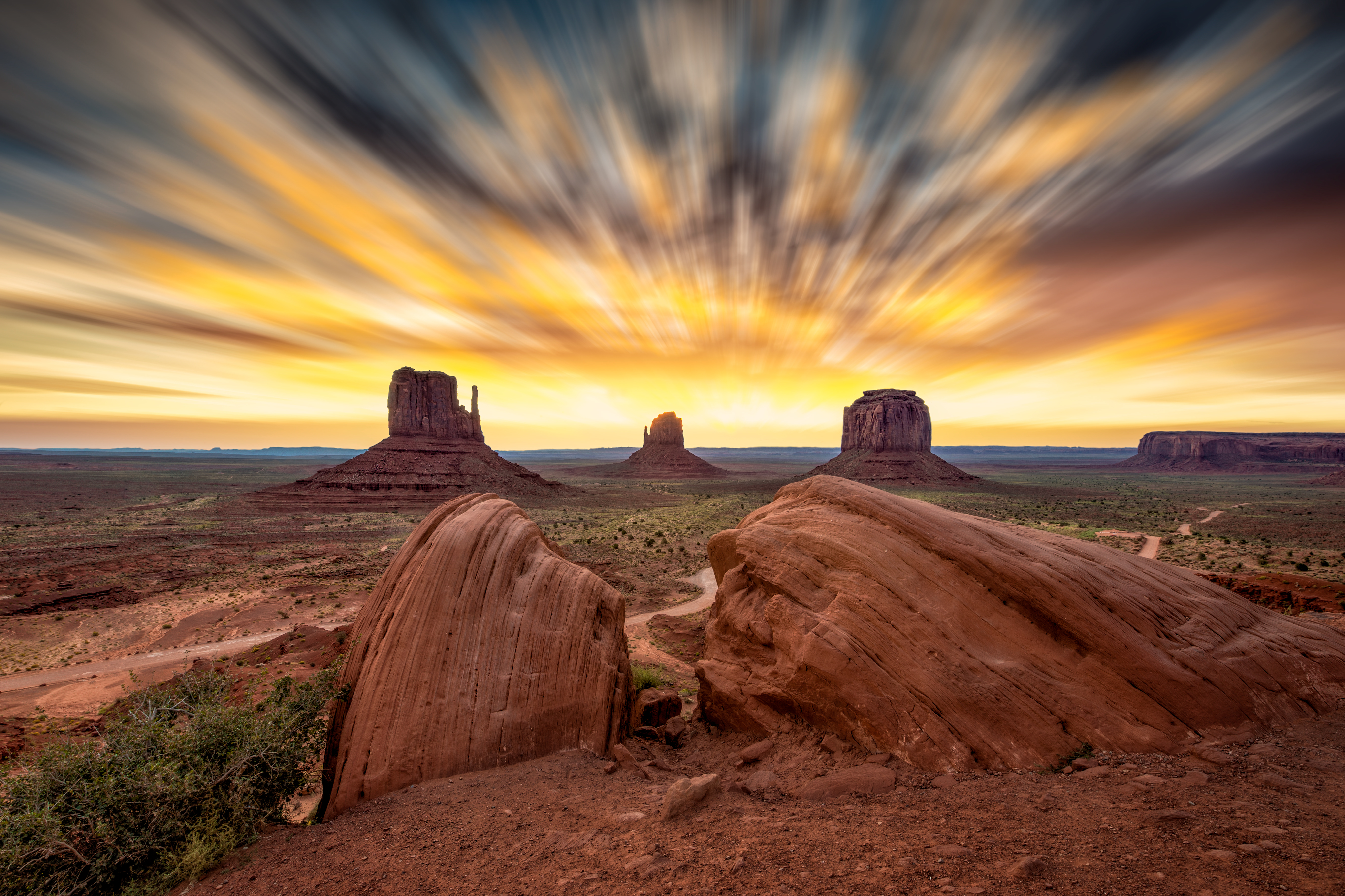 Monument Valley Sky Blur