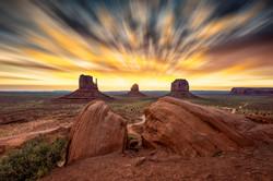 Monument Valley Sky Blur