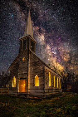 Locust Grove Church Milkyway