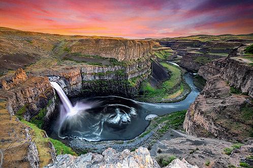 Palouse Falls at day, Washington