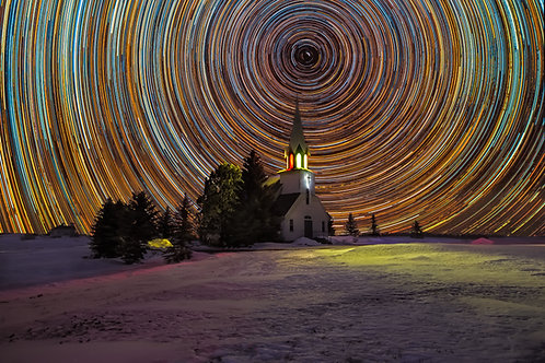 Church Startrail, North Dakota
