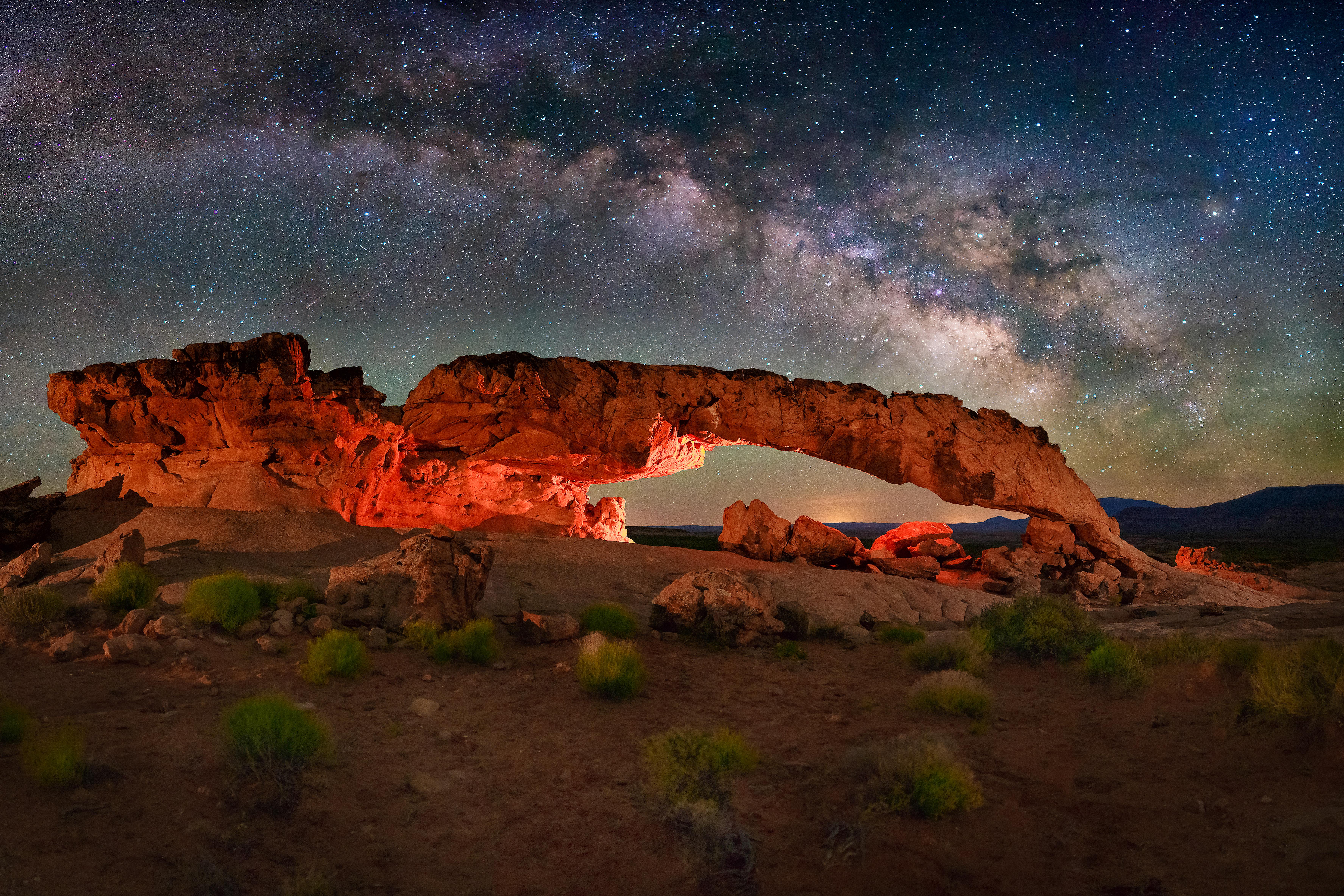 Sunset Arch V3 LR