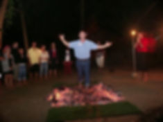 My firewalk in 2008 and NOW, I can do an