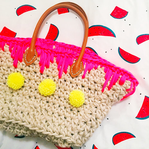 Summer Beach Bag - Crochet Pattern