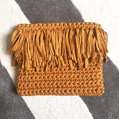 Tassel Clutch - Crochet Pattern