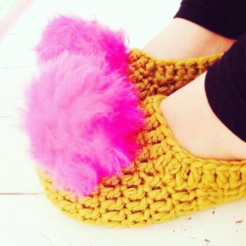 Festive Slippers Workshop