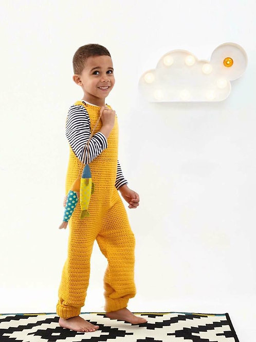 Unisex Dungarees - Crochet Pattern