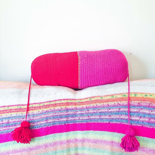 Bolster Cushion - Crochet Pattern