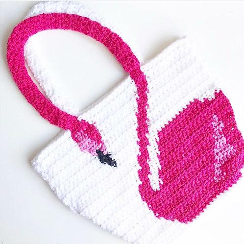 Flamingo Bag - Crochet Pattern