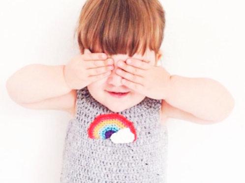 Rainbow Dress - Crochet Pattern