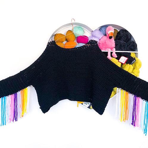 Christmas Tassel Jumper - Crochet Pattern
