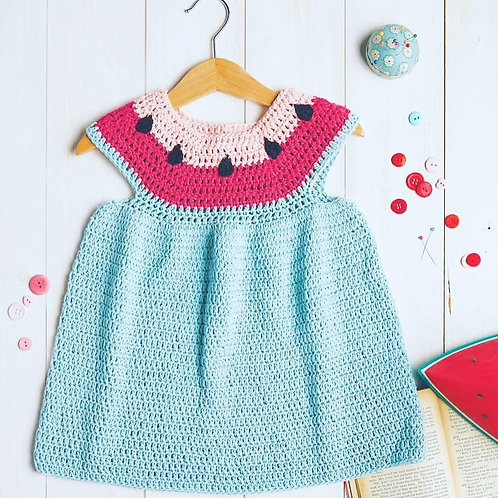 Watermelon Dress - Crochet Pattern