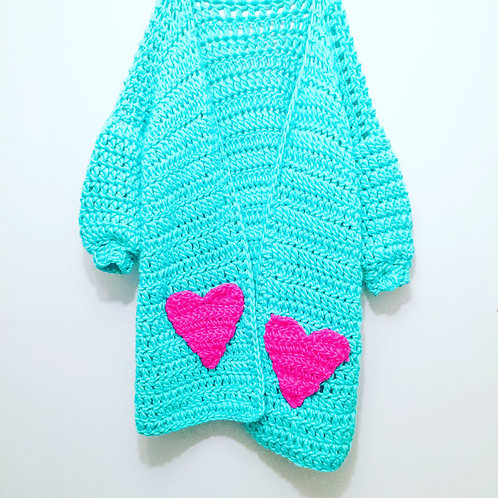 Heart Pockets Cardigan