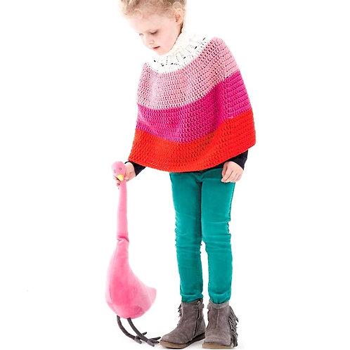 Colour Block Cape - Crochet Pattern