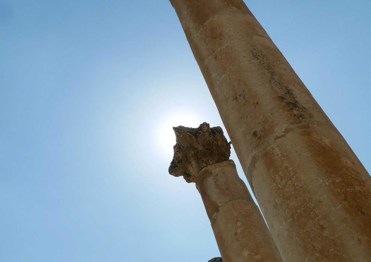 Ruines de Jerash - Jordanie