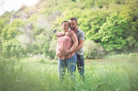 photographe grossesse vendee simple natu