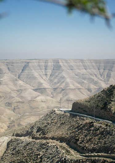Sur la route - Jordanie