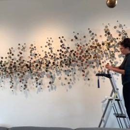 """Time-Lapse video of """"Wyoming"""" installation"""