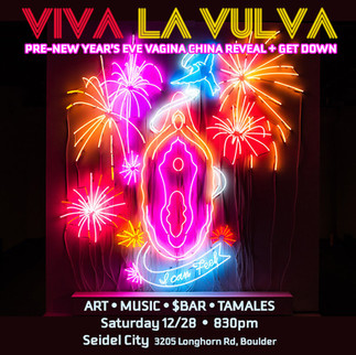 Pre-New Year's Eve Vagina China Reveal & Get Down