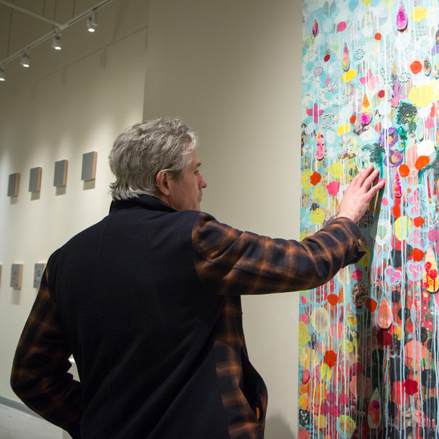 """""""Touch"""" at the Dairy Center for the Arts, Boulder, CO Jan. 18 - March 3, 2019"""
