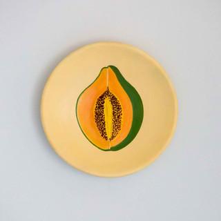 Forbidden_Fruit_papaya_TheWomensArtLeagu