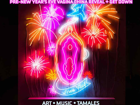 Pre-New Year's Vagina China Reveal and Get Down