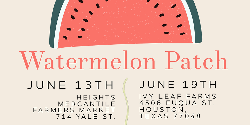Watermelon Patch - Heights Mercantile Farmers Market
