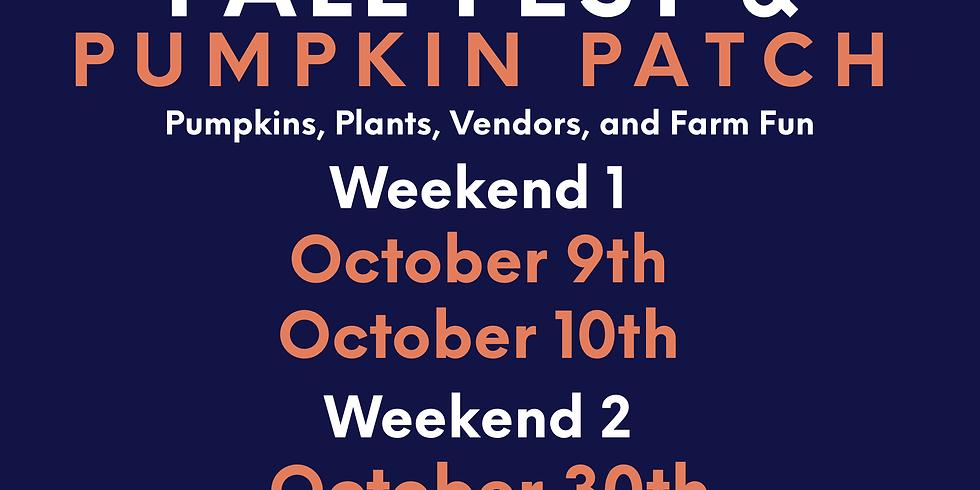 Ivy Leaf Farms Fall Fest & Pumpkin Patch