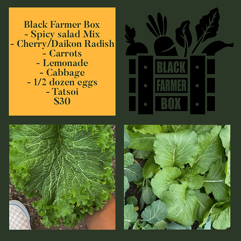 January Black Farmers Box