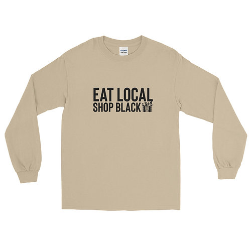 Eat Local Shop Black