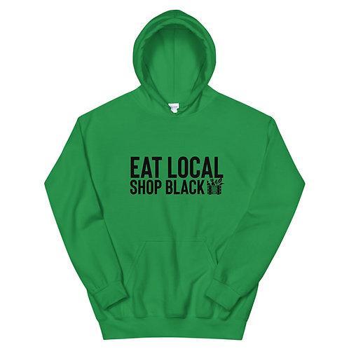 Eat Local Shop Black