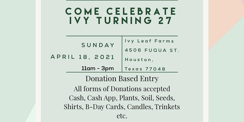 It's A Farm Party - Happy Birthday Ivy