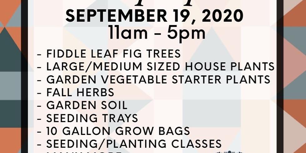 Ivy Leaf Farms Fall Pop Up