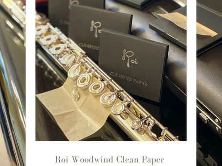 ROI Woodwind Cleaning Paper|ROI木管吸水紙)