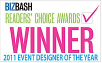 Award winning event designer
