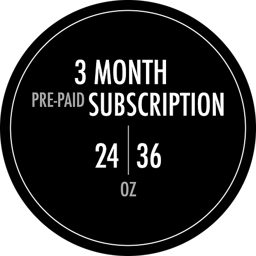 Roaster's Choice 3-Month Pre-Paid Subscription