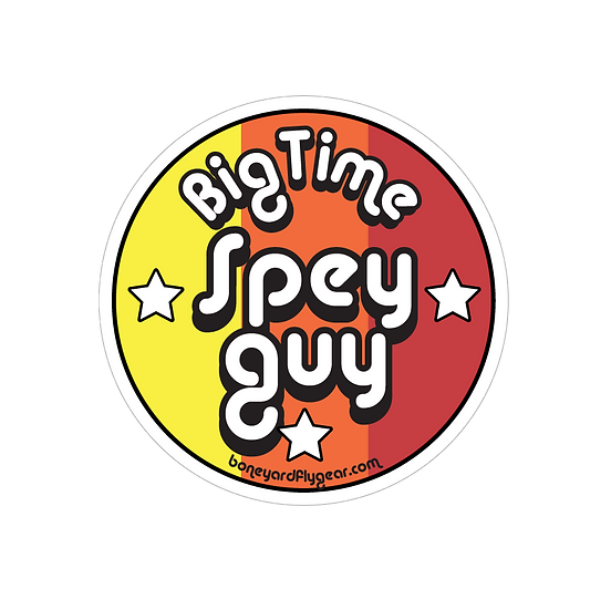 "4"" x 4"" Big time Spey Guy"
