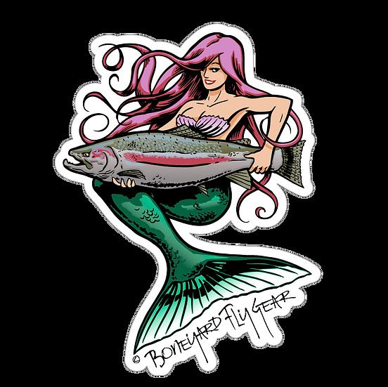 """5"""" x 6.5"""" Mermaid Steelhead"""