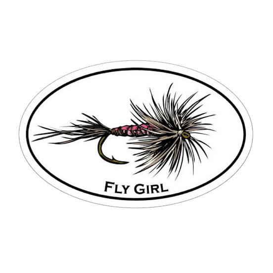 "3.75"" x 6"" Fly Girl Oval"