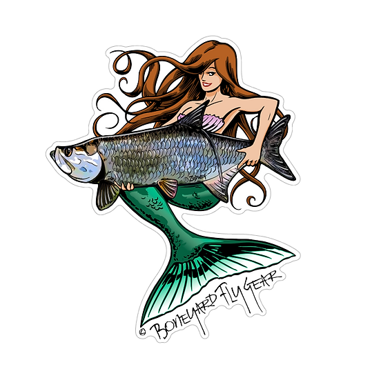 "5"" x 6"" Mermaid Tarpon"