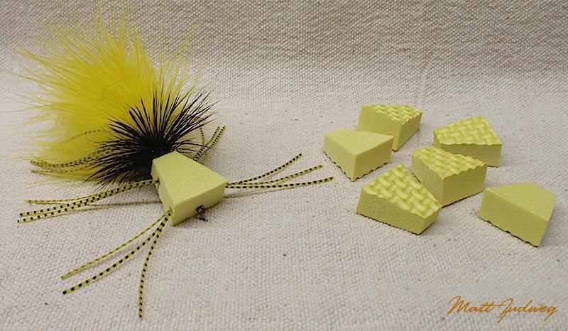 "6 pack ""Zudbubbler"" Popper Bodies - Yellow"