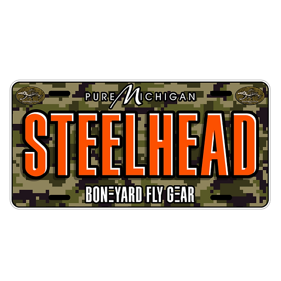 "6"" x 12"" Aluminum License Plate (New for 2021) Limited Supply Available"