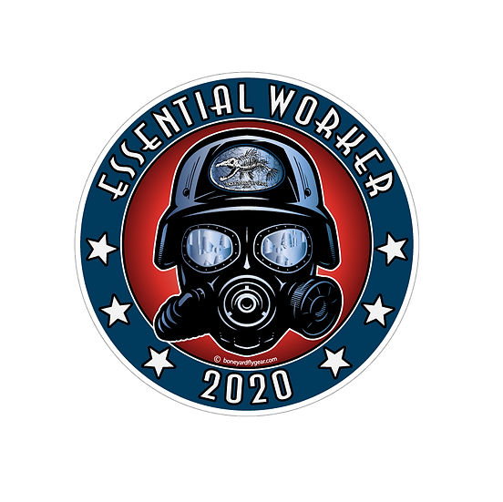 "4"" x 4"" Essential Workers 2020"