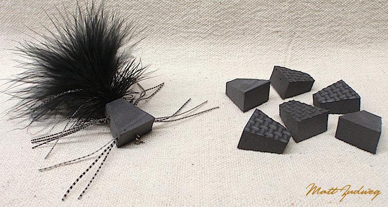 "6 pack ""Zudbubbler"" Popper Bodies - Black"