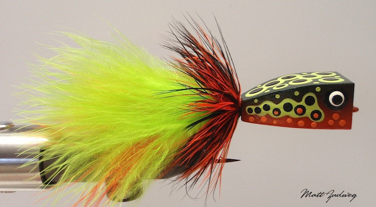Tiger Trout Balsa Popper 6/0